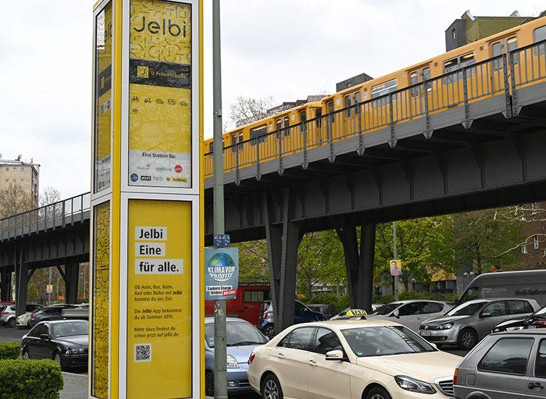 Erste Jelbi-Station in Kreuzberg eröffnet
