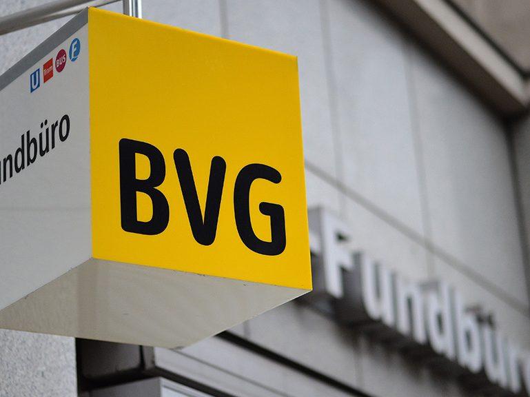 BVG-Fundbüro am 9. November geschlossen