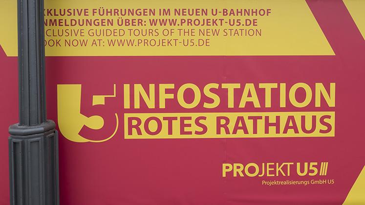 Kostenlose Führungen im U-Bahnhof Rotes Rathaus