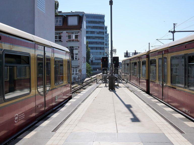 Erweiterung der Baumaßnahme bei der S-Bahn