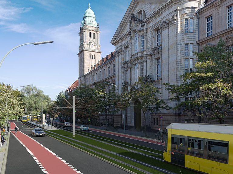 Informationen zu Straßenbahn-Neubauprojekten