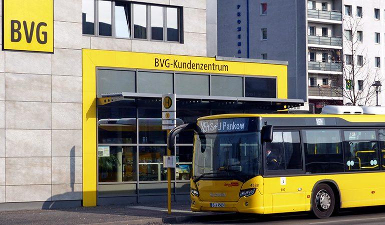Erste BVG-Kundenzentren und das Fundbüro öffnen wieder