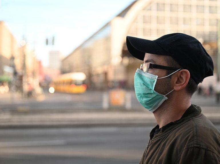 Mund-Nase-Bedeckung richtig nutzen