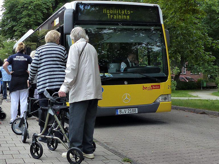 Keine Mobilitätstrainings bis Ende des Jahres