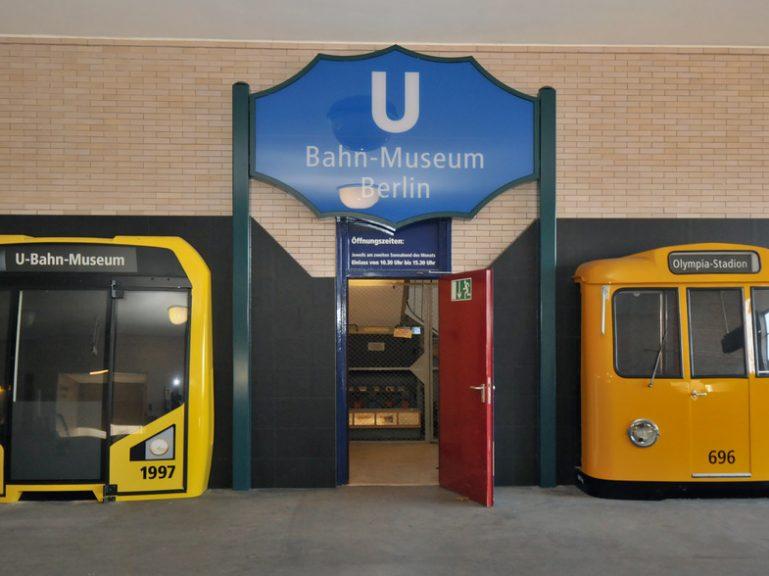 U-Bahn-Museum öffnet am Wochenende Samstag und Sonntag