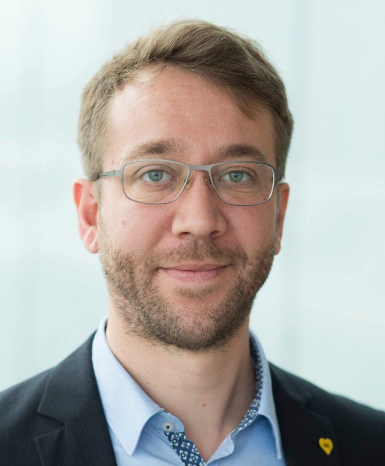 Pressesprecher der BVG Jannes Schwentuchowski
