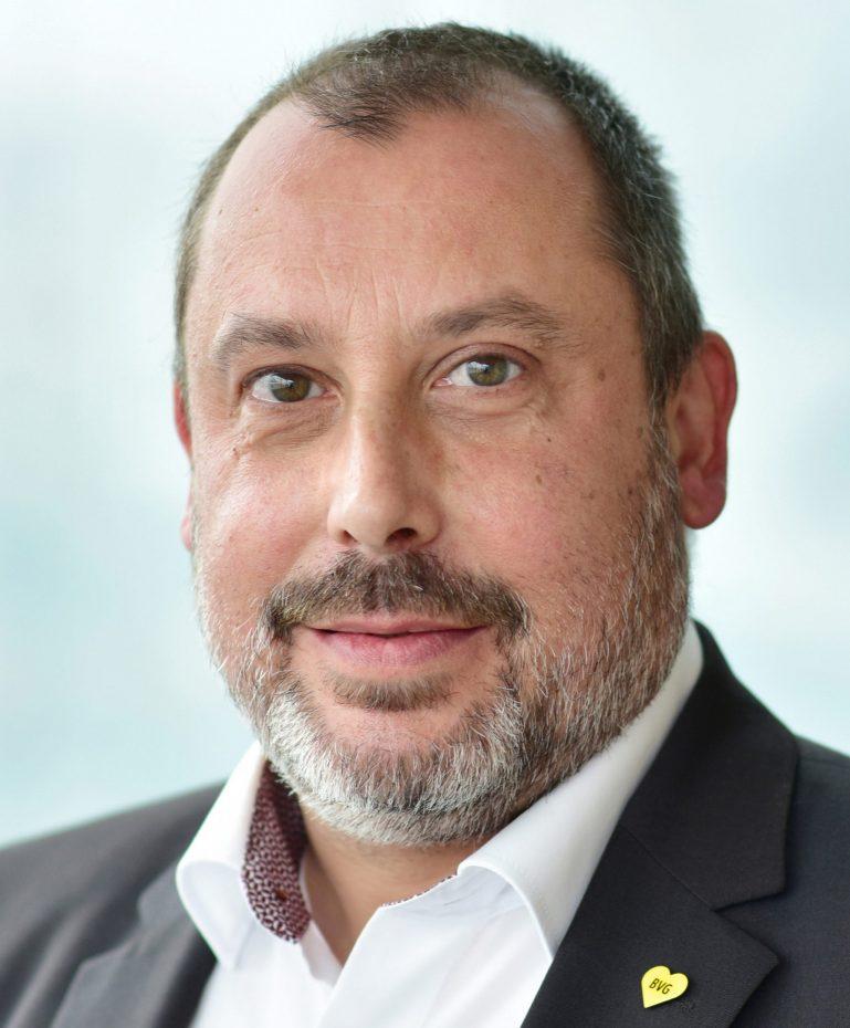 Pressesprecher der BVG Markus Falkner