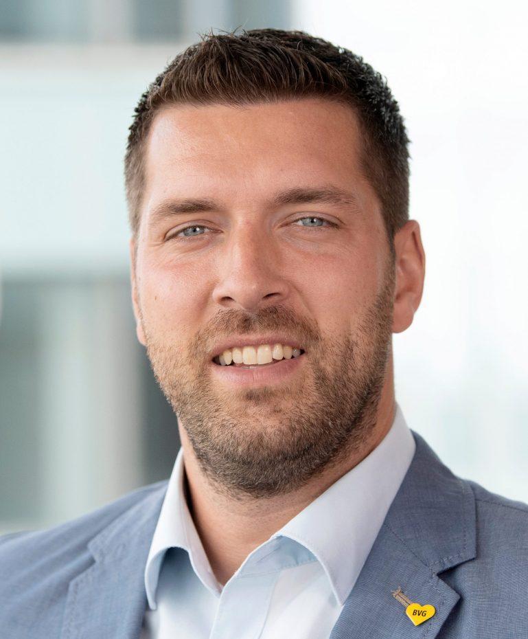Pressereferent der BVG Nils Kremin