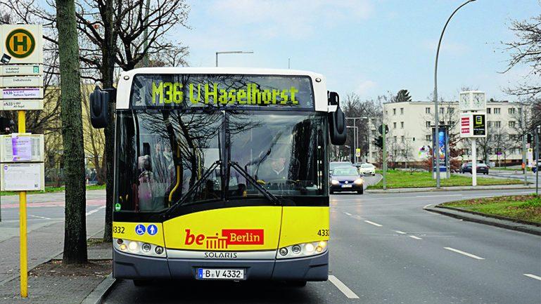 Neue Buslinie M36 am U Haselhosrt