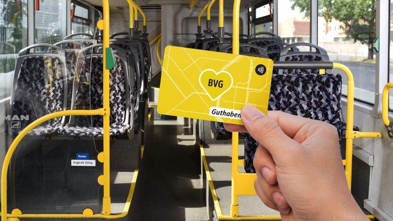 Neu: BVG-Guthabenkarte ab sofort erhältlich